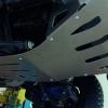 Что лучше пластиковые или металлические защиты двигателя
