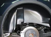 Какие функции выполняет защита колесных арок машины
