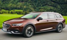 Обзор нового автомобиля Opel Insignia Country Tourer