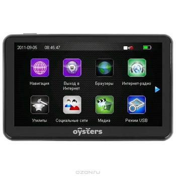 Oysters Chrom 2011 3G Навител