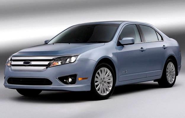 Тестирование беспилотного автомобиля «Ford Fusion Hybrid»