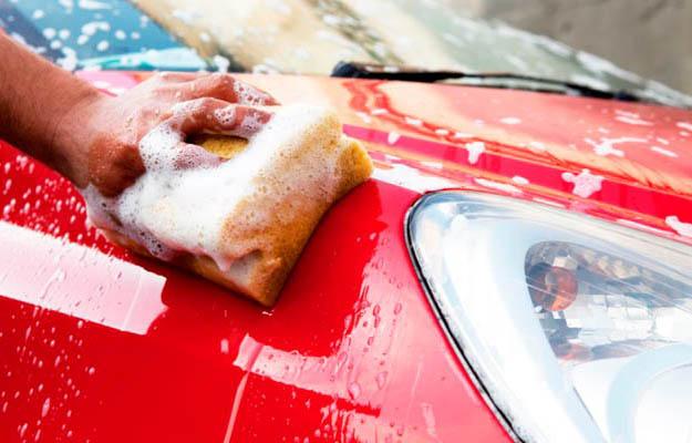 Чистый автомобиль – первый шаг в тюнинге