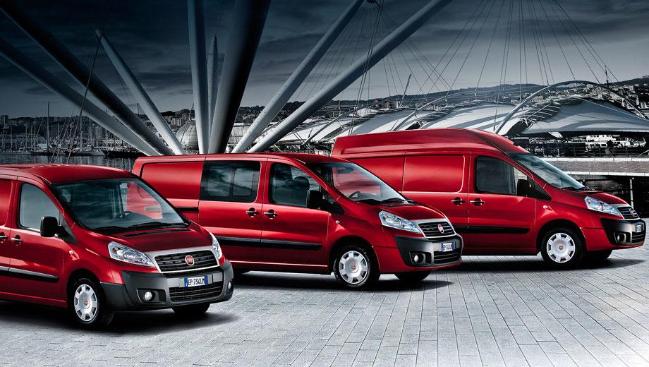 Современные микроавтобусы от Fiat