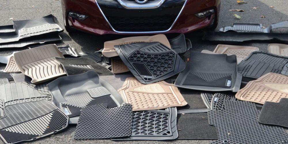 Какими бывают коврики в авто?